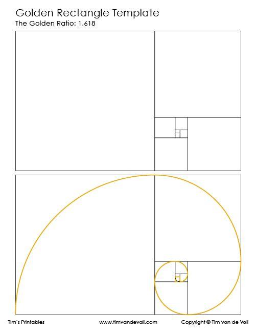 golden rectangle template tim s printables homeschool in 2018