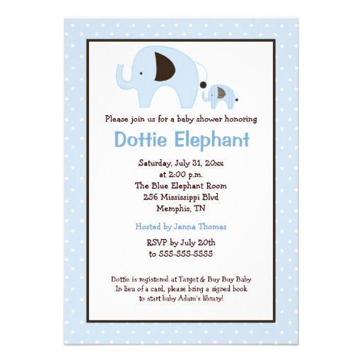 793 best triplets baby shower invitations images on pinterest dottie elephant light blue baby shower invite filmwisefo Choice Image