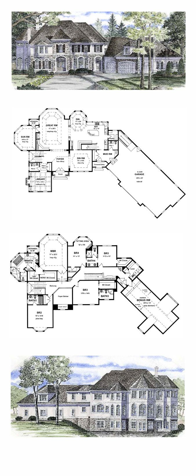 best 25 computer rooms ideas on pinterest computer room decor cool house plan id chp 44790 total living area 5180 sq