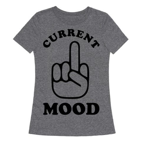 Middle fingers up! Show that your current mood is 'Fuck Off' with this sassy middle finger t shirt.