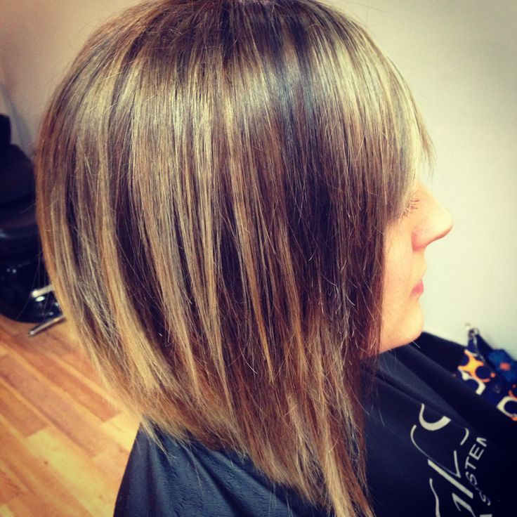 haircuts and color inverted bob with shattered ends hair by meghan 3598