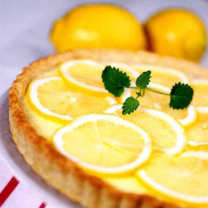 Citronpaj – recept på fransk klassiker