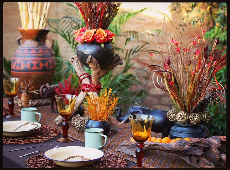 65 best traditional african wedding centerpieces and decor for African party decoration ideas