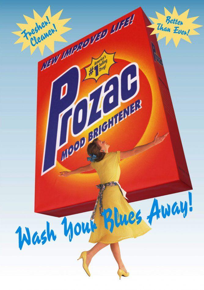Prozac spoof, Adbusters | Art Movements: Anti-Ad ...