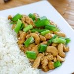 Cashew Chicken by EclecticRecipes.com #recipe   Want to try this in my Actifri