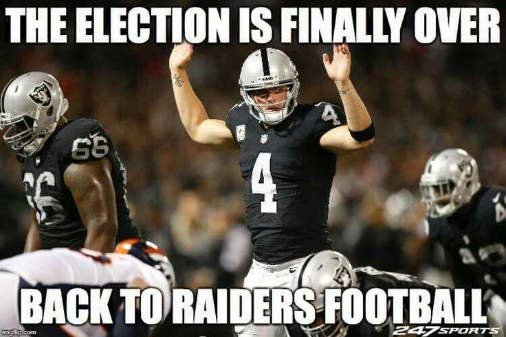Yay, Back to Raiders Football!