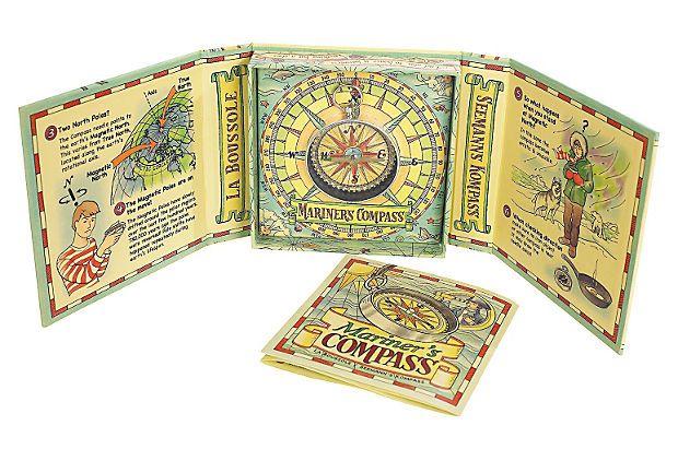 S/2 Mariner's Compass Kits on OneKingsLane.com