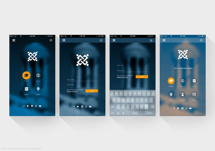 Mobile Application UI Proposal on Behance
