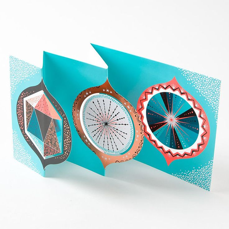 top3 by design - MoMA - decadent holiday christmascard