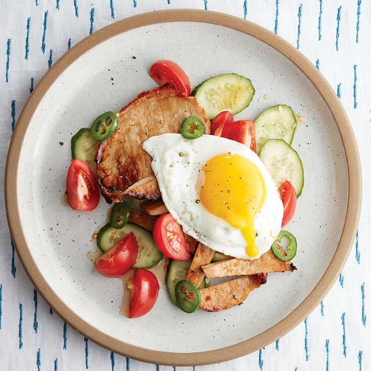 These sweet-zesty Vietnamese pork chops pair great with a small cucumber-tomato salad. Top it with an egg for Instagram-worthy meal.