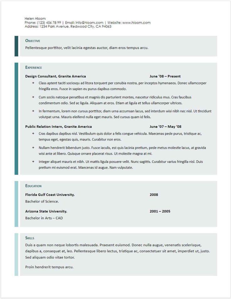 Google doc resume templates uptodate 30 google docs