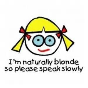 Mean Blonde Jokes - Bing Images