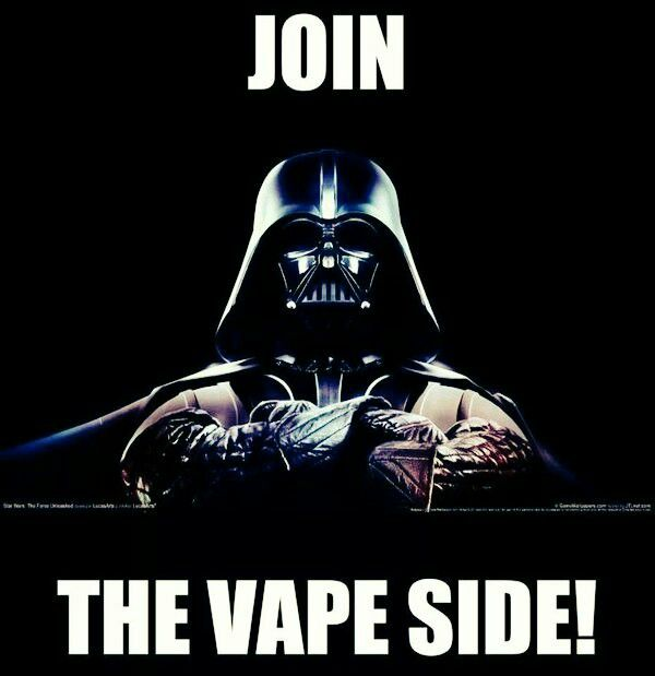 Join the vape side! We're so excited for the 7th installment of the Star Wars Movies! Are you?   #AtomVapes #gClapton #VGOD
