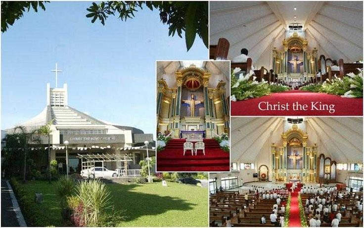 Where we got married; Christ the King, Greenmeadows, Philippines