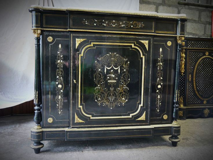 En Restauration Grand Meuble A Dormants Boulle 3