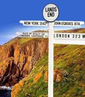 """Say """"Land's End"""" to anyone in the UK and they will think about """"John O'Groats"""". For the British, it is a major achievement to travel, using various forms of transport, from Land's End at the Westerly most point of Great Britain to John O'Groats in the North. The distance is 874 miles."""