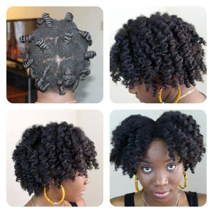 Bantu Knots On Short C Natural Hair