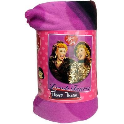 """I Love Lucy Blanket - Double Trouble 60""""X50"""""""