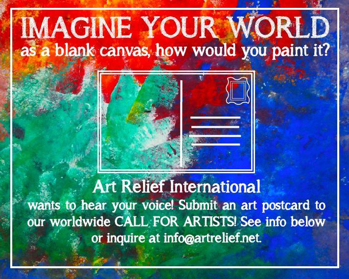 Art Relief International Volunteer Blog: Imagine Your World Postcards