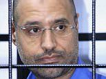 Colonel Gaddafi's son Saif al-Islam sentenced to death for war crimes in Libya | Daily Mail Online