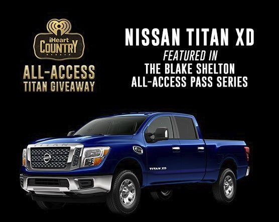 Grand Prize Winner will win a 2017 Nissan Titan XD Crew Cab Diesel Truck vehicle or $45,000.00 cash! Login with your iHeartRadio account to enter.