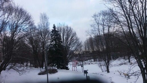 Vantaa in February.