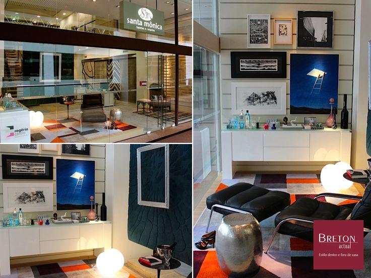 As vitrines da loja Santa Mônica do Shopping D&D ganharam um toque especial: decoração feita com móveis Breton! O projeto é do designer de interiores Rogério Castro, que escolheu buffet Chang Mai, poltrona e banqueta Maggiolina, banqueta Faux e poltrona L'Opera. #BretonActual #ShoppingD&D #LojaSantaMônica