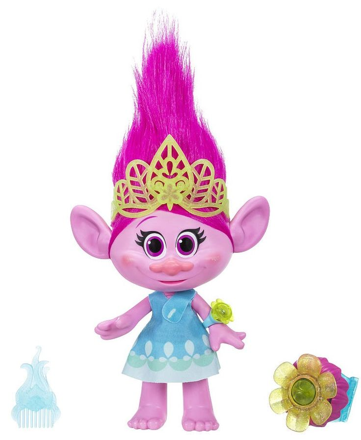 Trolls Hug Time Poppy Doll Toy from DreamWorks Movie 2016 - 2017
