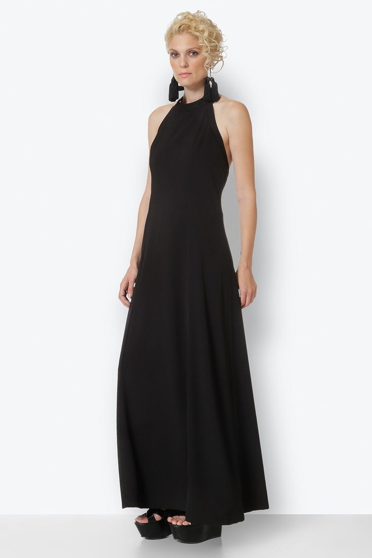 #dress #black #maxi #marymary #marymaryshop
