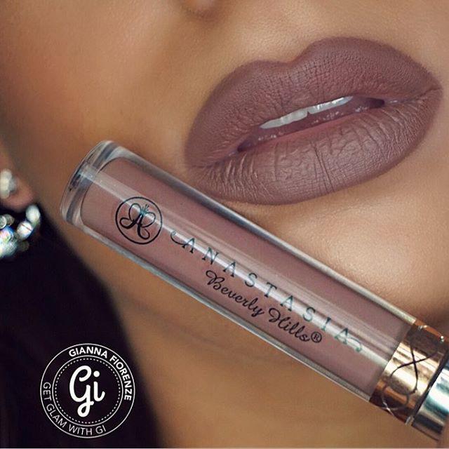Anastasiabeverlyhills Liquid Lipstick In Sepia Makeup