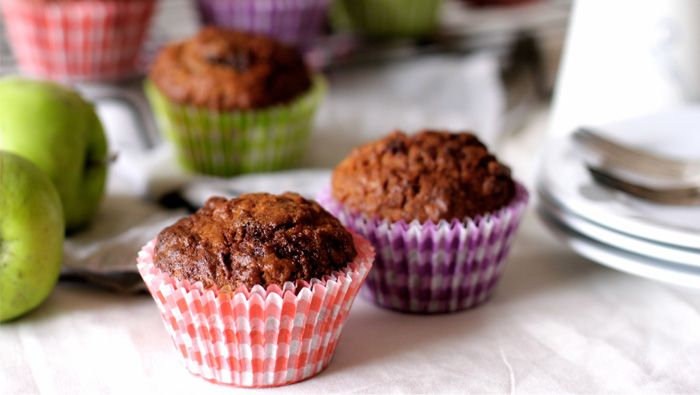 Healthy delicious overnight muffins