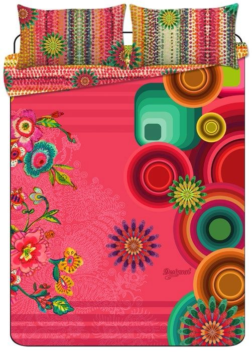 Linge de lit desigual lollipop nouvelle collection - Desigual home decor ...
