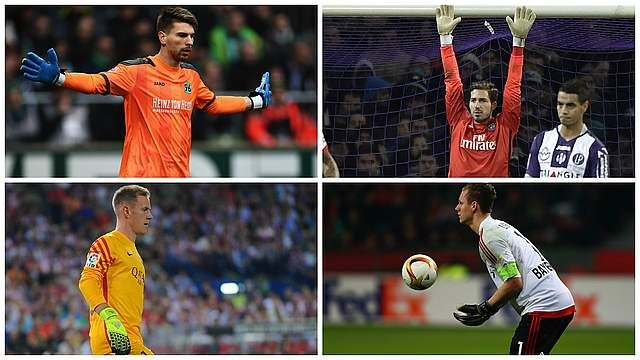 Germany goalkeeping coach Andreas Köpke is spoilt for choice with a host of top-quality stoppers up for selection for EURO 2016.