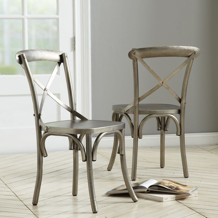 1000 ideas about metal dining chairs on pinterest cheap dining chairs dining chairs and. Black Bedroom Furniture Sets. Home Design Ideas