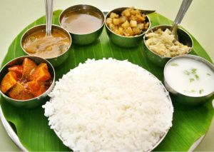 South Indian food in general is an Indian dish that has the same main characteristics of Indian cuisine in general.