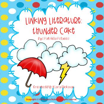 If you LOVE teaching literature through cross curricular activities and have the book Thunder Cake by Patricia Polacco, then you're in luck! Your students will be engaged in fun and purposeful activities in reading, writing, math, science and art! Included in this resource is a lesson plan with materials and questions stems, interactive notebooks for