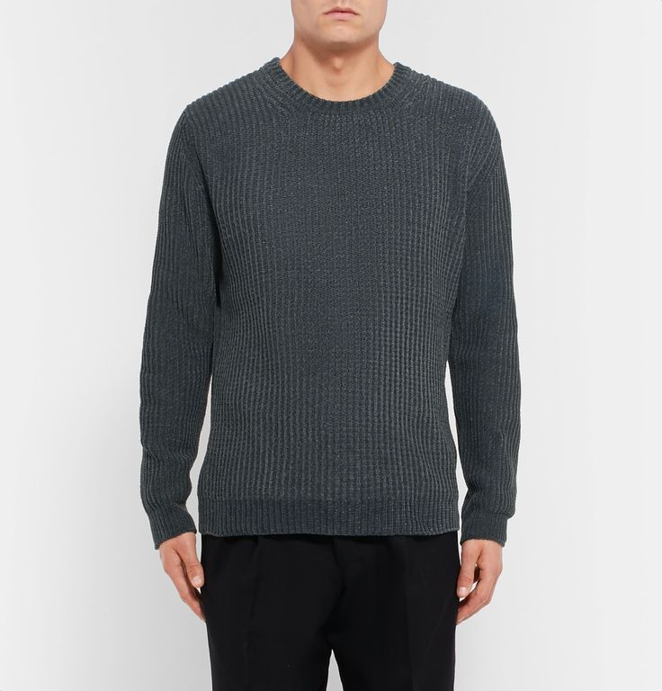 Solid Homme - Chenille Sweater