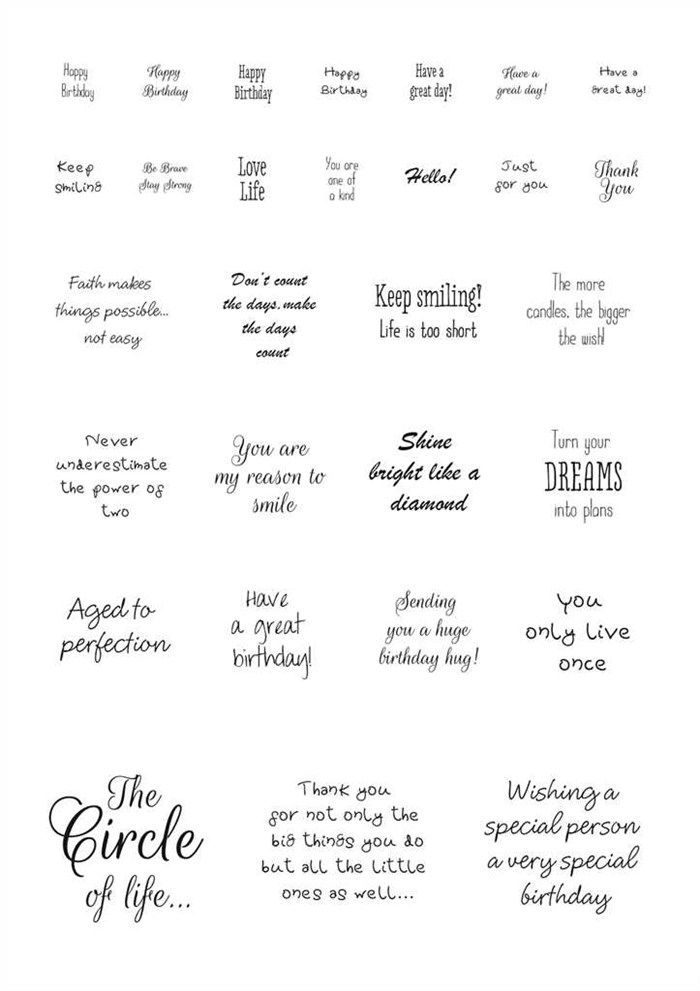 Best 25 Card Sentiments Ideas On Pinterest Greeting