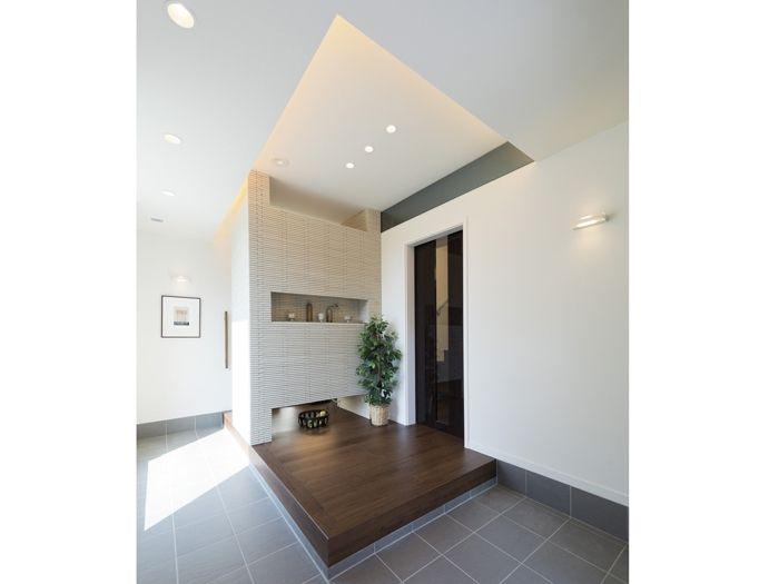 家事室 ユーティリティルーム の画像検索結果 玄関ホール インテリア 玄関 前インテリア 折り上げ天井