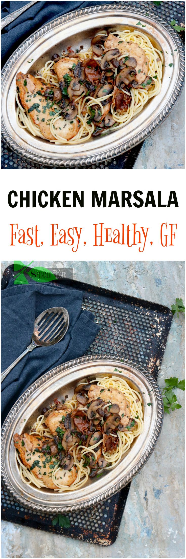 317 best man food images on pinterest cooking food drinks and drink easy chicken marsala with mushrooms recipes from spinach tiger forumfinder Choice Image