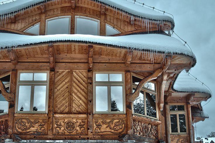 Sebastian Pitoń || Architektura Organiczna || Domy z bali || Domy drewniane