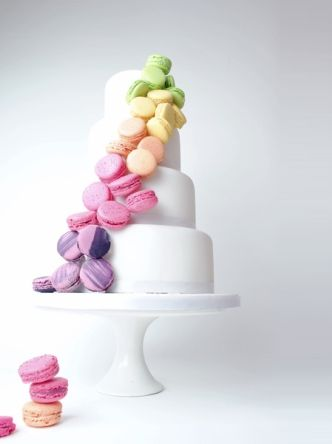 macaron wedding cake - best wedding cakes 2013 - weddingsonline.ie