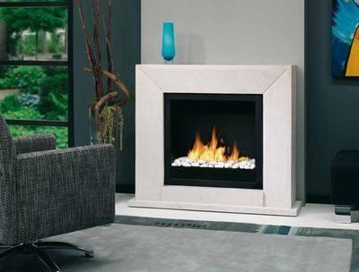 Nero   Bioethanol Fireplace