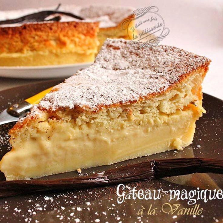 Gâteau magique à la vanille, facile et pas cher : recette sur Cuisine Actuelle