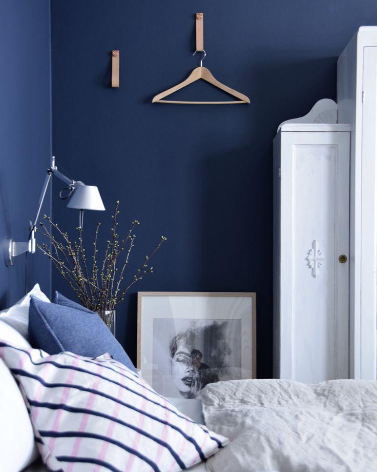 Makuuhuone / Bedroom, Scandinavian interior