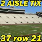 #Ticket  2 AISLE ROW 21: Charleston Southern @ Florida State FSU Football 9/10 37row21 #deals_us