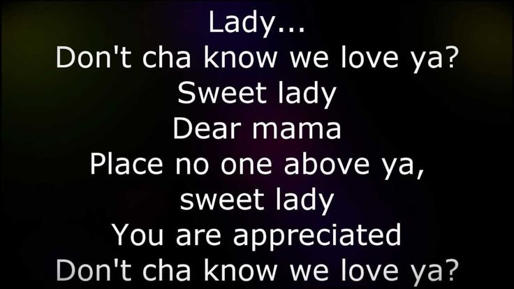 """Dear Mama"" by 2 Pac (Tupac)"