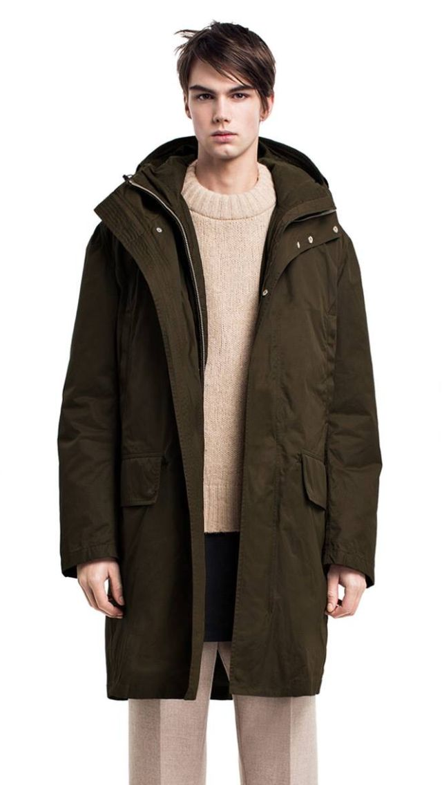 Men s double layered