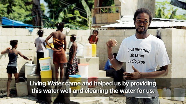 I cannot imagine not having the most basic necessity available for my family. Consider doing Advent Conspiracy this Christmas. Instead of gifts no one really needs, give the gift of water.   [AC] Haiti Well by Advent Conspiracy