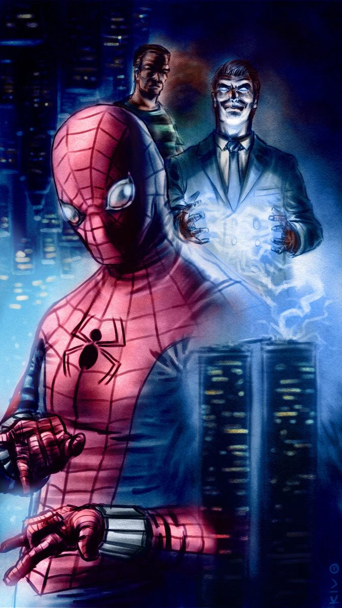 Fan Art for James Cameron's never made Spider Man film